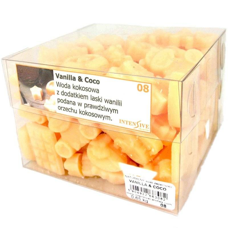 Intensive Collection Natural Scented Wax Melts Scented Table Refill 650 g - Vanilla & Coco